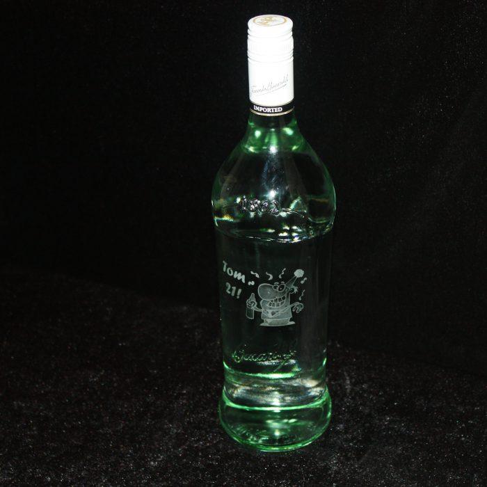 bacardi- fles-met-gravure
