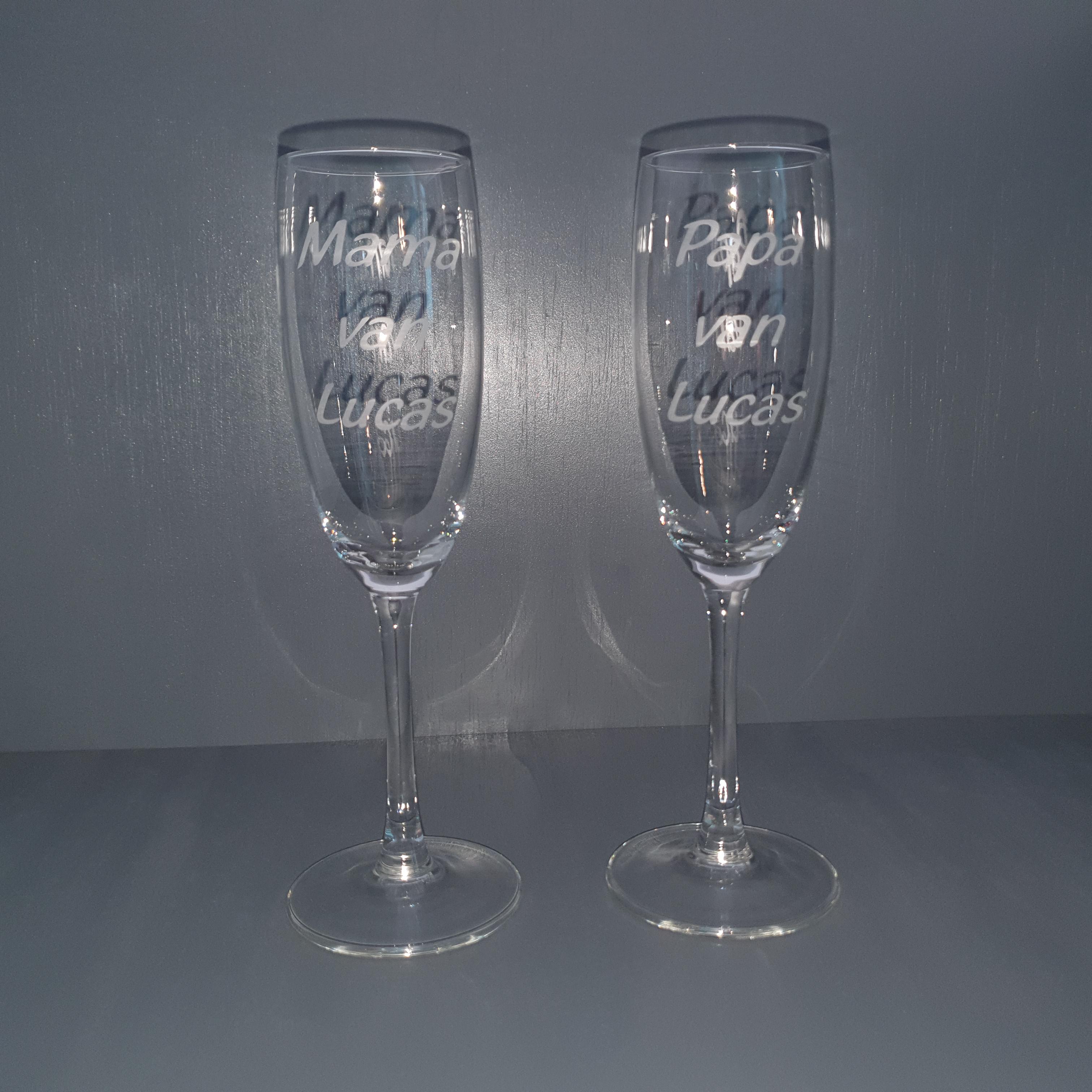 champagneglas-papa-mama