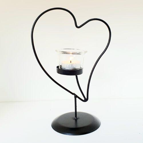 sfeerlicht hart van zwart metaal