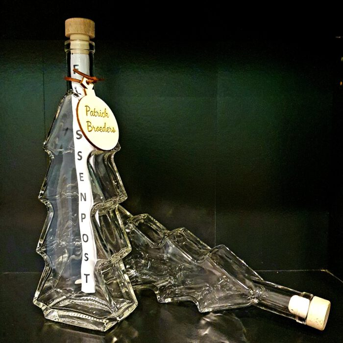 kerstboom-glas-fles-0,5liter