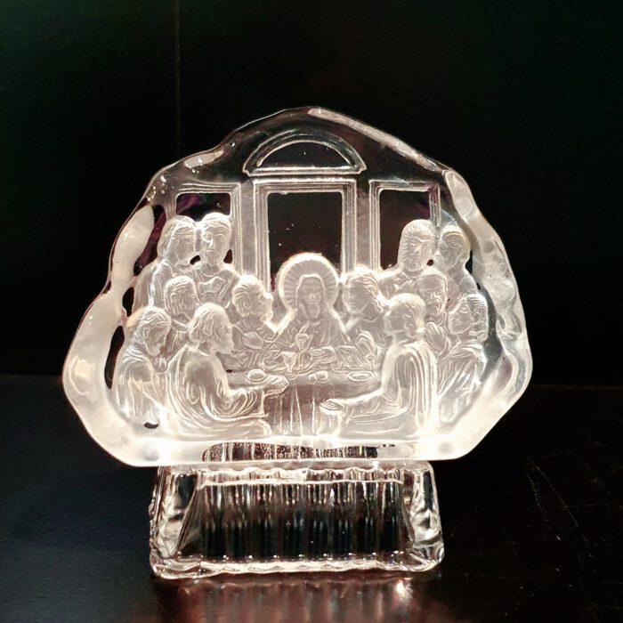 glaskunst-laatste-avondmaal-kristal-klein