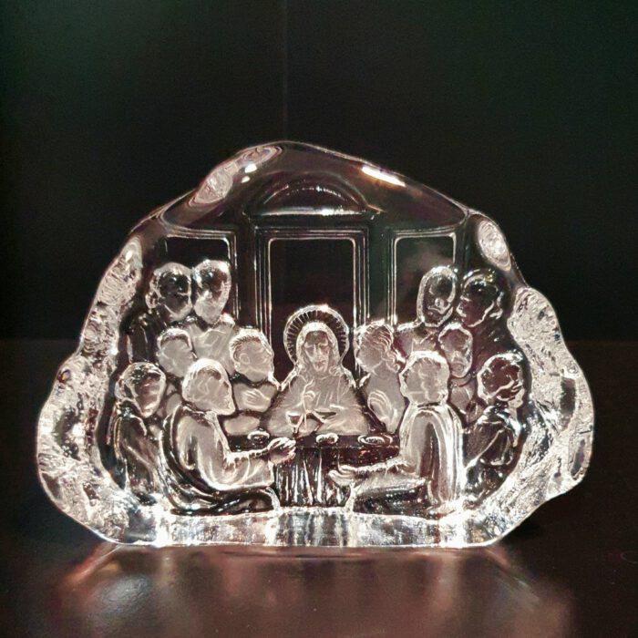 glaskunst-bokaal-laatste-avondmaal-kristal