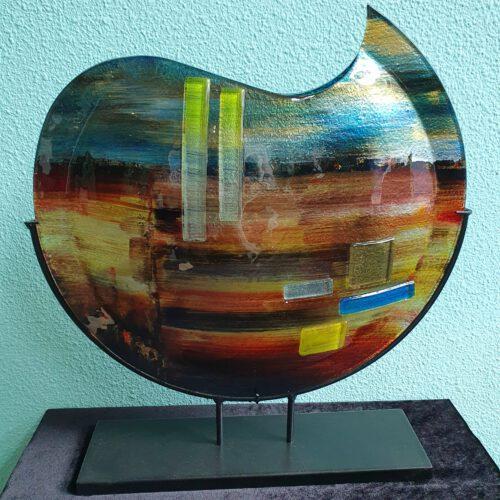 glaskunst-grote-ronde-vaas-glassfusion-natuur
