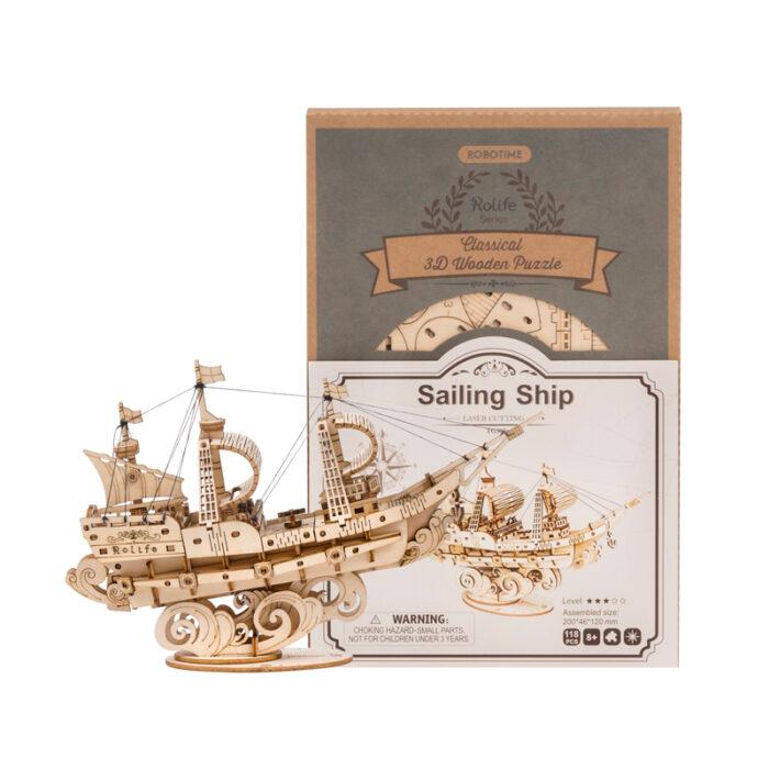 3D-houten-puzzel-saling-ship