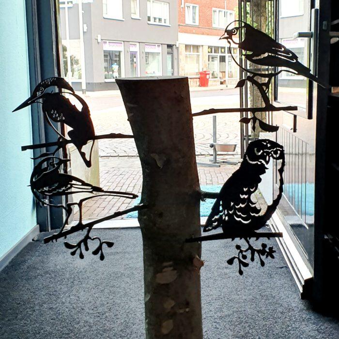 tuinstekers-geluksvogel-cortenstaal