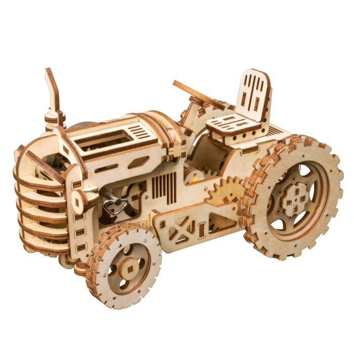 3D houten puzzel tractor